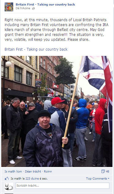 Britain First - or fascists, racists, bigots and Neo-Nazis