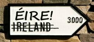 Éire not Ireland!