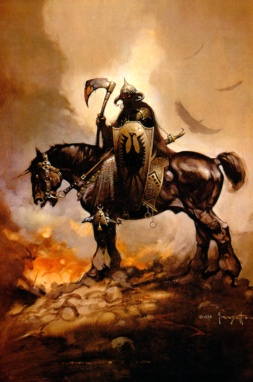 Death Dealer by Frank Frazetta 1973
