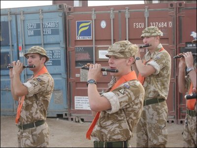 In Afghanistan soldiers of the British Army wear the regalia of the Orange Order, a Protestant fundamentalist organisation, which promotes the hatred of Roman Catholics in Ireland and elsewhere