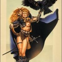 Raven, Swordmistress Of Chaos, Chris Achilléos