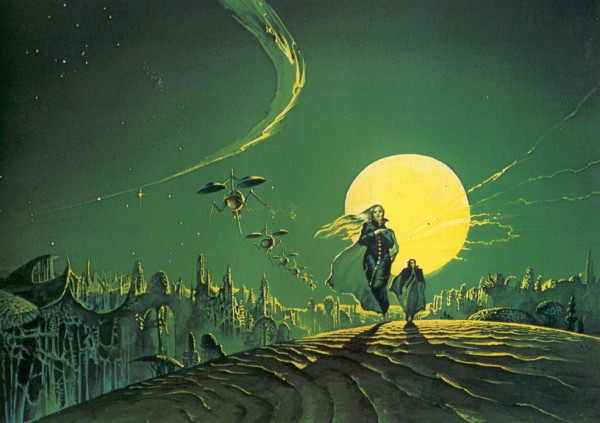 Children of Dune cover by Bruce Pennington