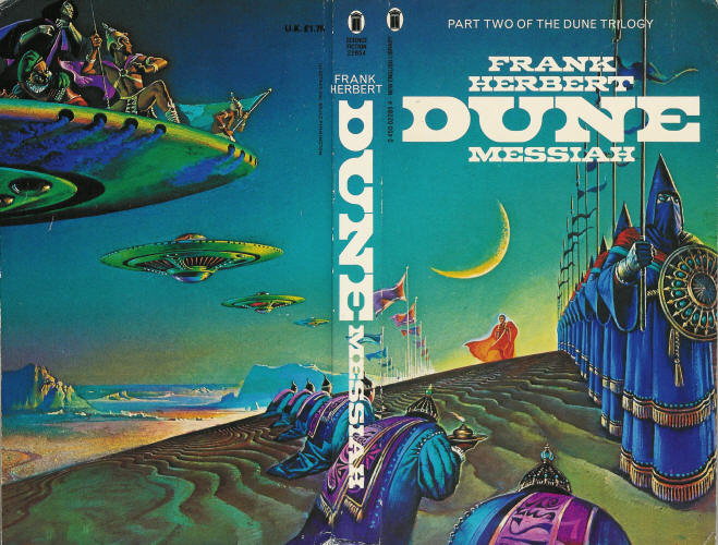 Children Of Dune Book Cover ~ From the new sun to dune bruce pennington an sionnach fionn