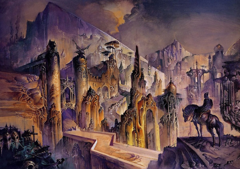 The Citadel of the Autarch by Bruce Pennington