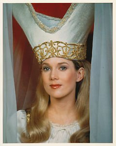 Julia Duffy as Princess Ariel in 1983's Wizards and Warriors