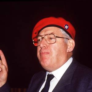 Ian Paisley + + in + un + Ulster + Dice + n + raduno + in + Ballymoney + 1986 +