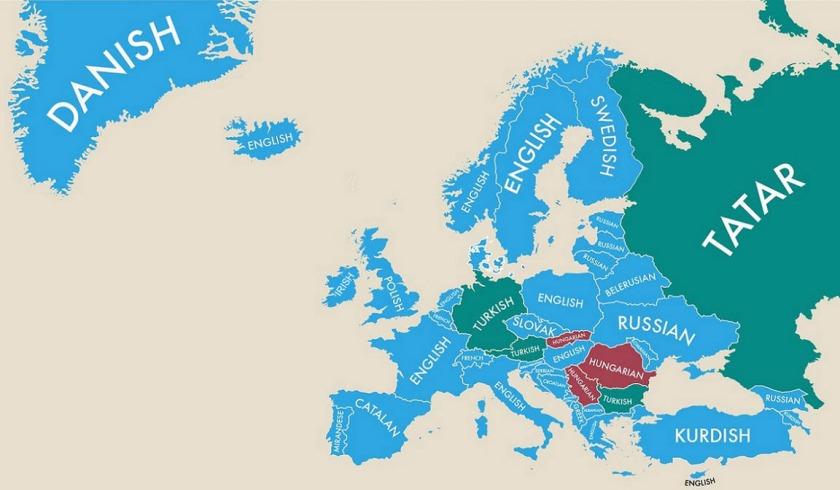 second spoken languages of contemporary europe an sionnach fionn