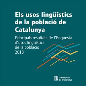 Els usos lingüístics de la població de Catalunya. Principals res