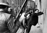 John Hume, Irish political statesman and later winner of the Nobel Peace prize, is siezed by British troops, Occupied North of Ireland