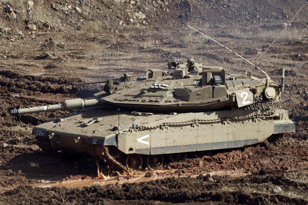 Merkava IV Main Battle Tank, Israeli Defence Forces