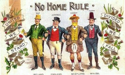 No Home Rule. Still the view of the British-apologists and Neo-Unionists in the Irish media