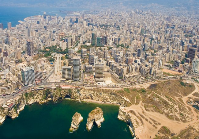 Béiriút, An Liobáin - Beirut, Lebanon