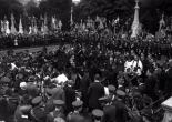 The funeral of the Fenian or Irish republican revolutionary Jeremiah O'Donovan Rossa, Dublin, Ireland 1915