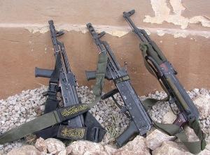 Assault rifles of Islamic and Arab insurgents