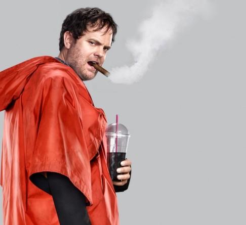 Cynical, world-weary grouch Everett Backstrom  as played by Rainn Wilson,