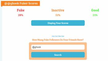 Fake, inactive and active Twitter followers of George Hook