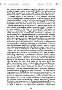 An Irish Empire, Aspects of Ireland and the British Empire, page 206