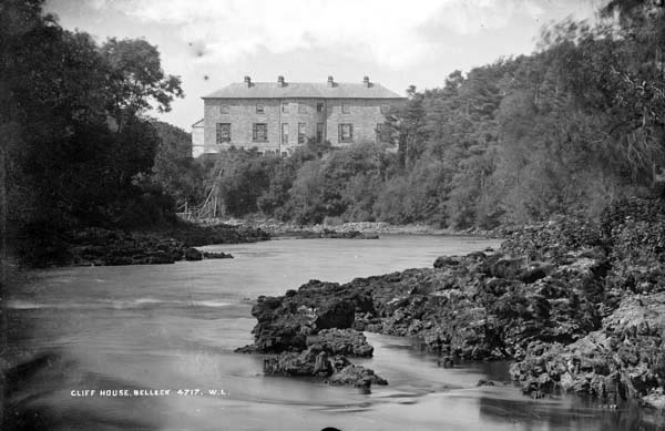 Cliff House on the banks of the River Erne, Belleek, County Fermanagh, Ireland