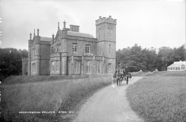 Magheramenagh Castle, Belleek, County Fermanagh, Ireland