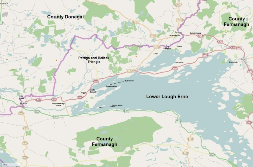 Pettigo and Belleek, Counties Fermanagh and Donegal, Ireland