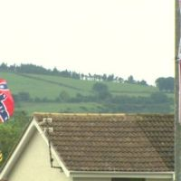 For July 12th Confederate, Nazi And British Terrorist Flags Fly In Ireland