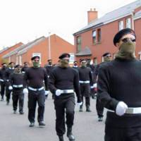 The INLA Show Of Strength In The City Of Derry