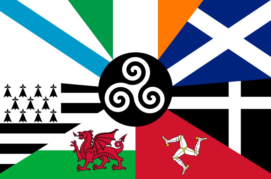 Pan-Celtic Flag