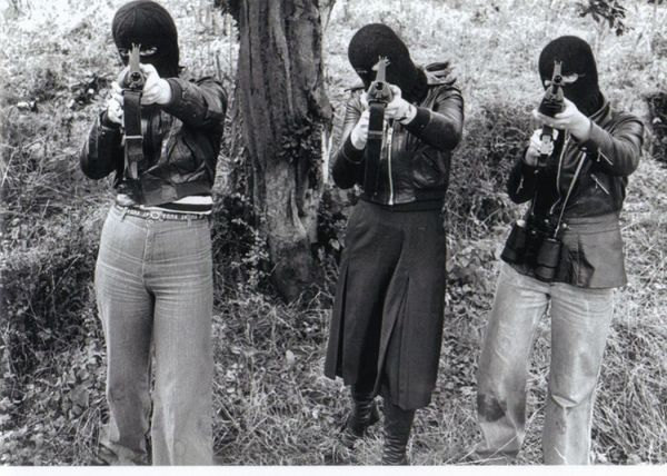 Volunteers of the Cumann na mBan, CnamB, the former female wing of the Provisional Irish Republican Army, 1970s, Ireland