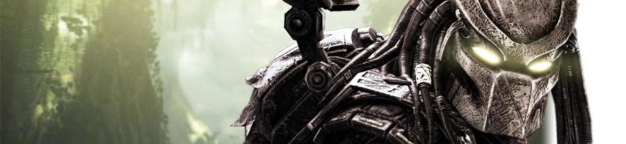 Alien predator in the sci-fi action and horror movie Predator