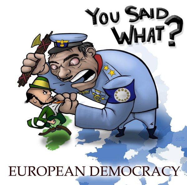 European Union democracy - or not