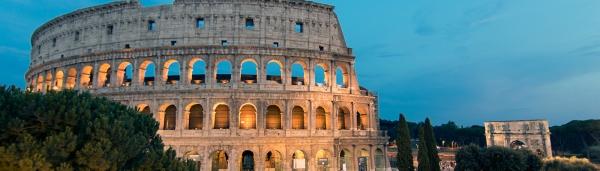 The Roman Colosseum in Rome, Italy.  Photo: Marlon I. Torres