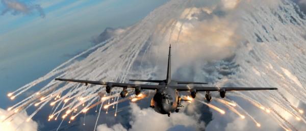 United States aircraft bomb and gun strikes
