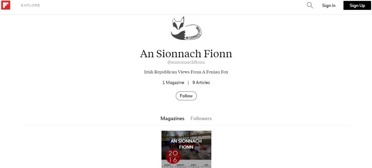 An Sionnach Fionn on Flipboard