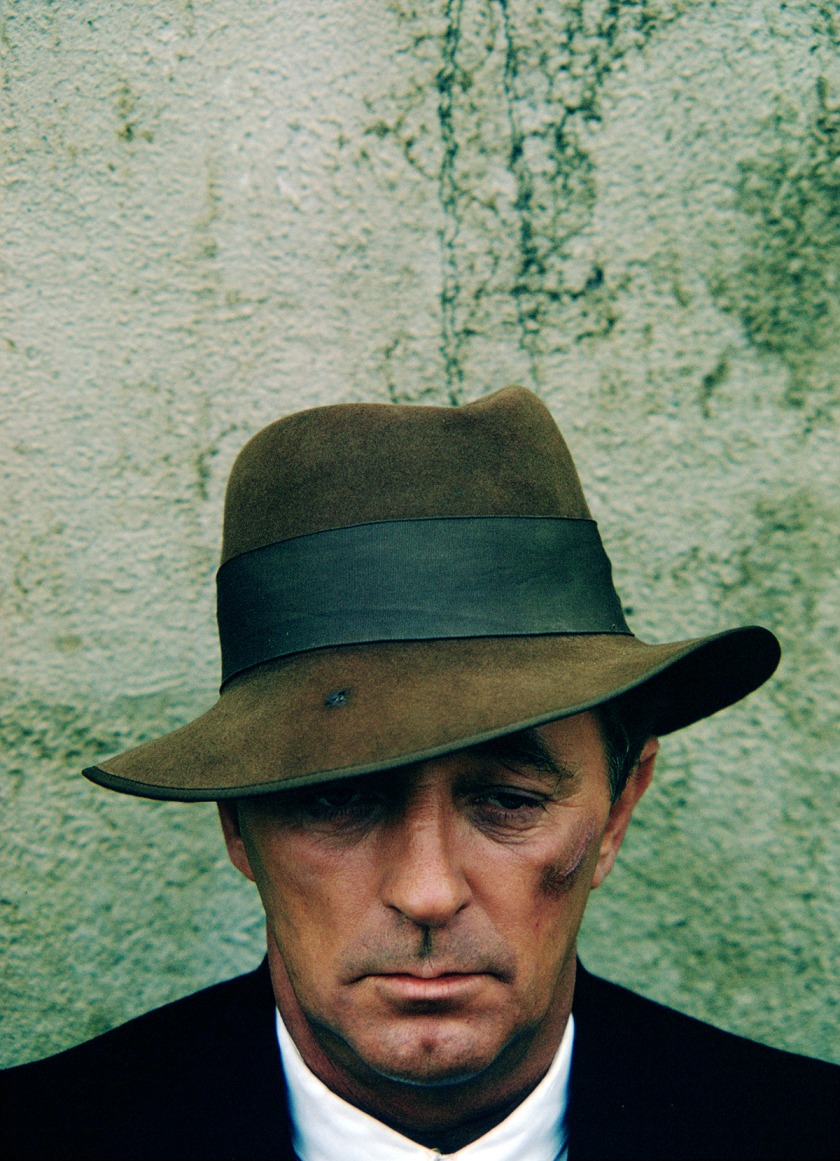 A publicity still of Robert Mitchum from the David Lean film, Ryan's Daughter, 1970