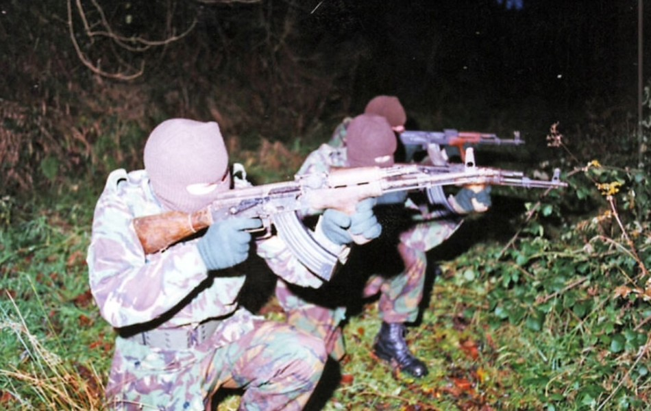 Volunteers of the Irish Republican Army, UK Occupied North of Ireland