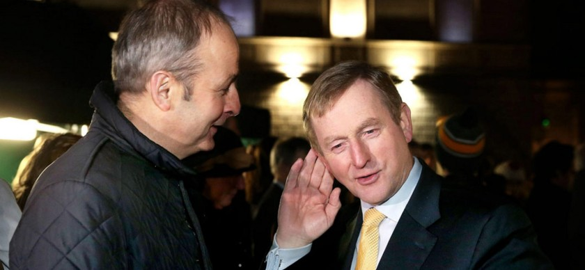 Fianna Fáil and Fine Gael and the cosy coalition of Martin and Kenny