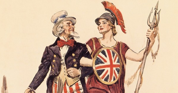 Side by Side, Britannia. The United States of America and the United Kingdom of Great Britain