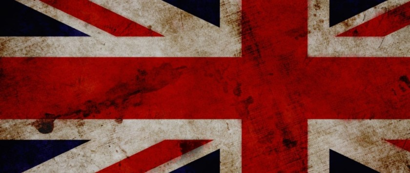 The British union jack flag or the Butcher's Apron