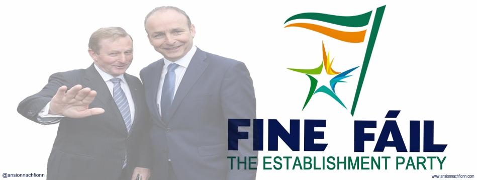 Fine Fáil, the Fine Gael and Fianna Fáil alliance