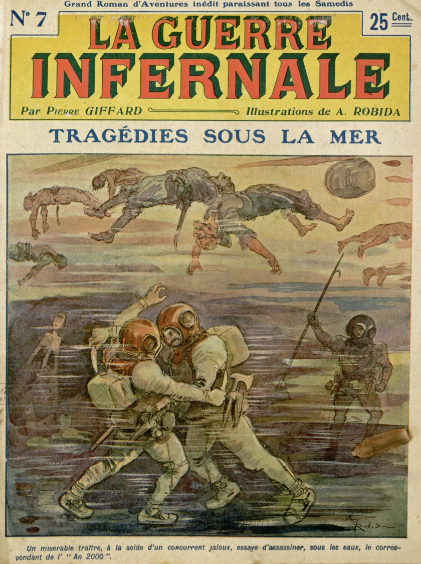 La Guerre Infernale No. 7 by Pierre Giffard and Albert Robida, 1908