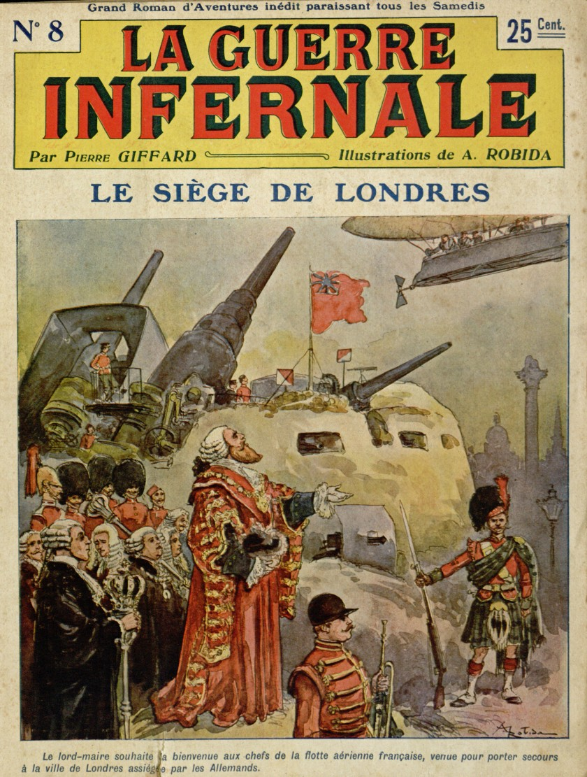 La Guerre Infernale No. 8 by Pierre Giffard and Albert Robida, 1908