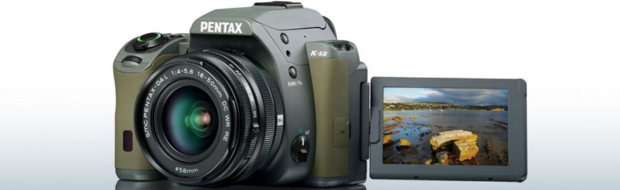 A Pentax DSLR camera from Ricoh