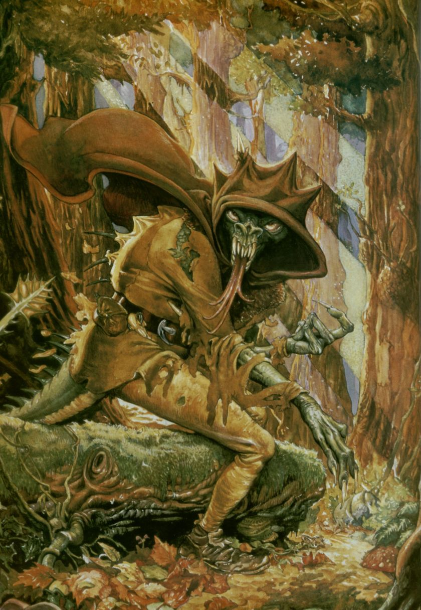 Forest of Doom by Ian Livingstone, cover illustration by Iain McCaig