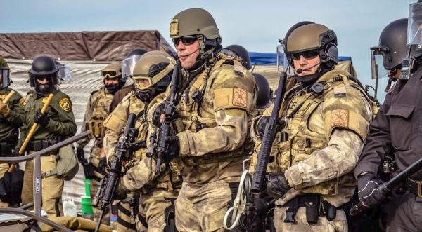 militarised-local-and-state-police-in-the-united-states-heavily-armed-or-in-riot-gear-confront-peaceful-protesters