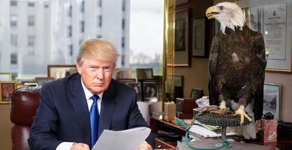 donald-trump-with-a-bald-eagle