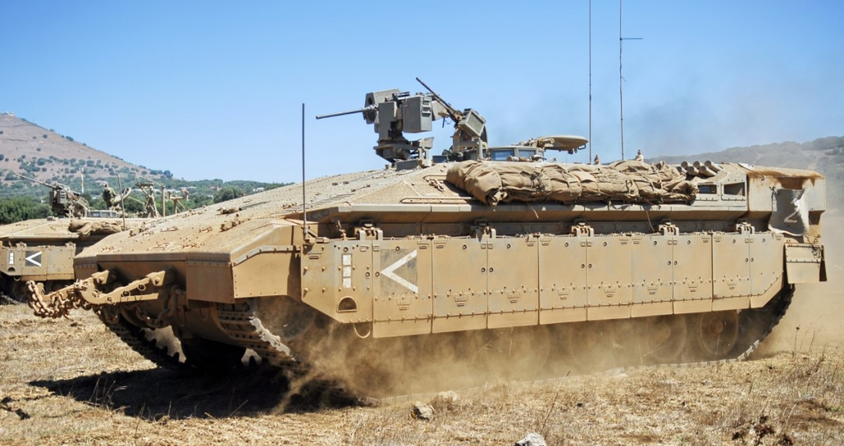 Israel Upgrades Tank-APC As Middle East Becomes Military Laboratory