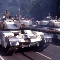 The Impossibility Of Camouflaging A Main Battle Tank In A City