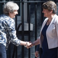 The DUP Orders UK Conservative Party Government To Push For Hard Brexit