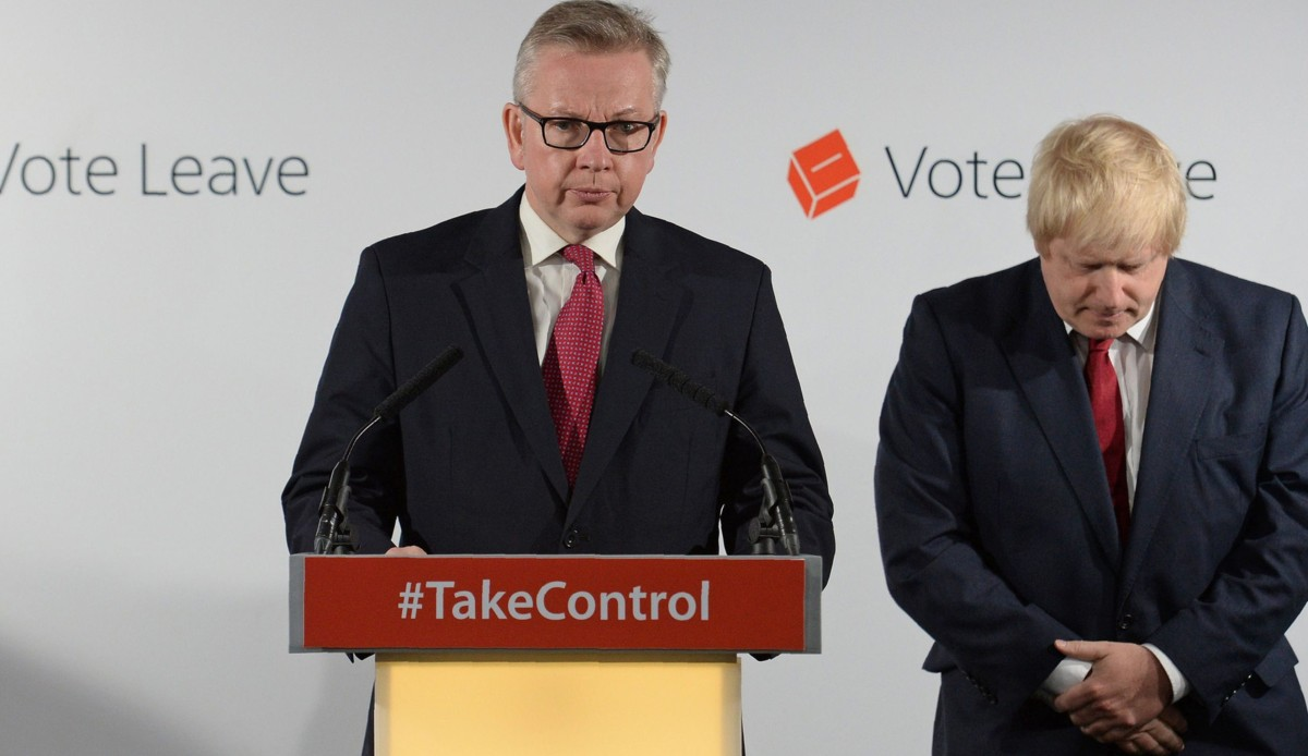 British Minister Michael Gove Claims That The UK Can Renege On Its Exit Deal With The EU And Ireland