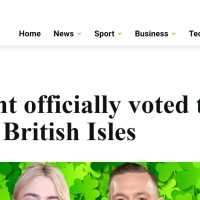 Extra.ie, The Daily Mail Offshoot In Ireland No One Has Heard Of